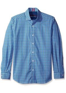 Robert Graham Men's Tailored Fit Woven Long Sleeve Sport Shirt