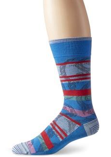 Robert Graham Men's Tecate Crew Sock