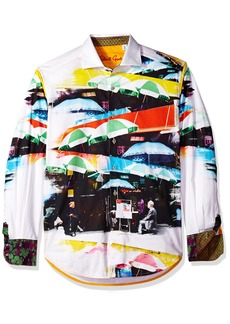 Robert Graham Men's Travail Limited Edition Shirt  3XLARGE
