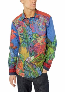 Robert Graham Men's Tropical Harmony Limited Edition Shirt  XLarge