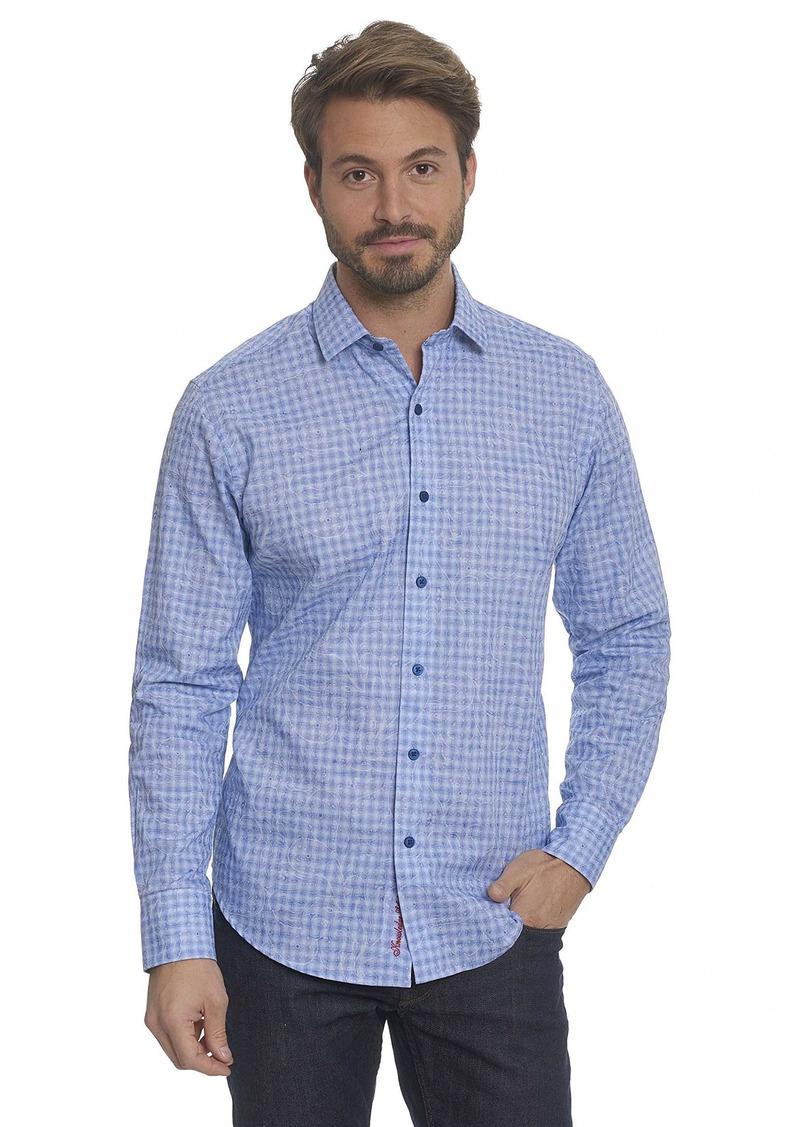 Robert Graham Men's Utica Classic Fit Sport Shirt  Medium