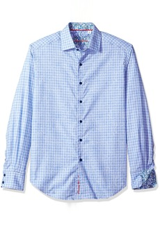 Robert Graham Men's Utica Classic Fit Sport Shirt  XLarge