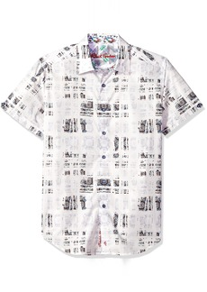 Robert Graham Men's Vega Short Sleeve Shirt