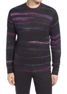 Robert Graham Men's Vividstroke Crewneck Wool Sweater