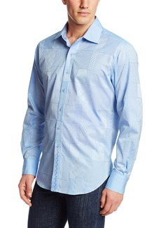 Robert Graham Men's Wallie Long Sleeve Woven Shirt
