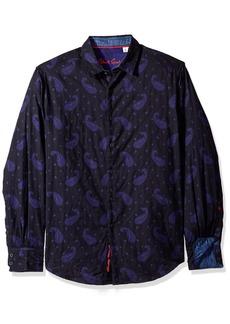 Robert Graham Men's Wayfarer Cotton Classic Fit Sport Shirt