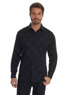 Robert Graham Men's Wayfarer Cotton Classic Fit Sport Shirt