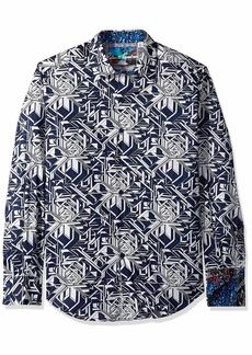 Robert Graham Men's WYLAND Long Sleeve Classic FIT Shirt