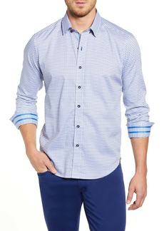 Robert Graham Miller Regular Fit Button-Up Sport Shirt