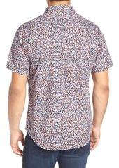 Robert Graham Mohave Classic Fit Print Sport Shirt (Big & Tall)