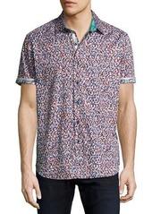 Robert Graham Mohave Short-Sleeve Sport Shirt
