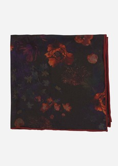 Robert Graham Moody Botanical Silk Pocket Square