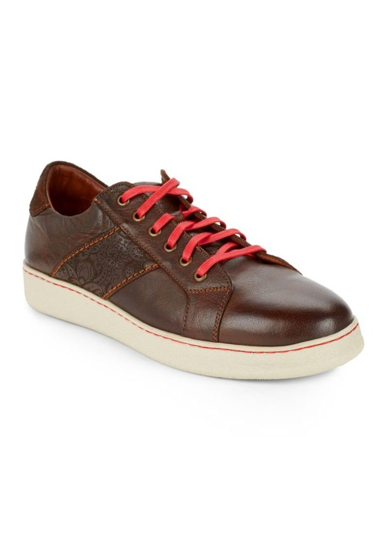Robert Graham Murphy Leather Sneakers