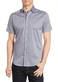 Robert Graham Myron Tailored Fit Sport Shirt