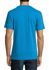 Robert Graham Short-Sleeve V-Neck Tee