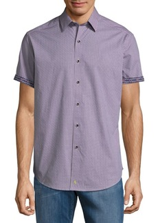 Robert Graham New Hope Cotton Button-Down Shirt