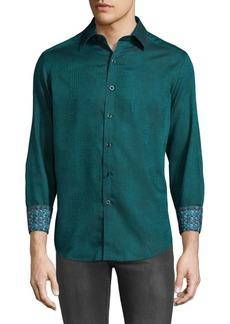 Robert Graham Niagara Cotton Casual Button-Down Shirt