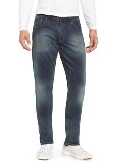 Robert Graham Norris Classic Straight Leg Jeans (Dark Indigo)