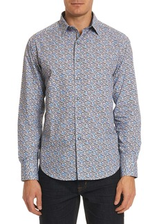 Robert Graham Oakes Classic Fit Floral Sport Shirt