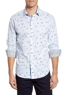 Robert Graham Omakese Classic Fit Button-Up Shirt
