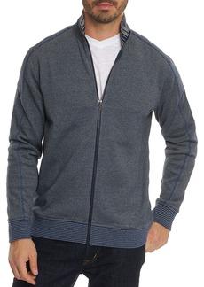 Robert Graham Oneonta Front-Zip Cotton Sweater - 100% Exclusive