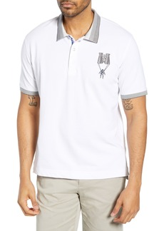 Robert Graham Out of Sight Classic Fit Piqué Polo