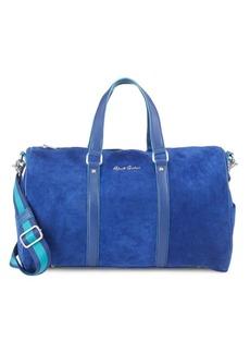 Robert Graham Pachori Leather Weekender Bag