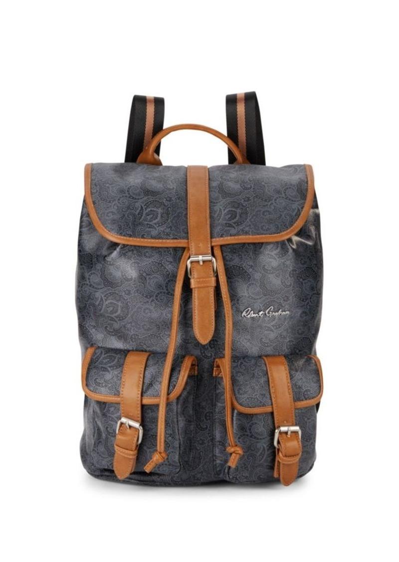 Robert Graham Paisley-Print Backpack