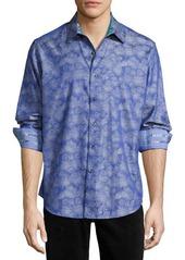 Robert Graham Palmdale Long-Sleeve Sport Shirt