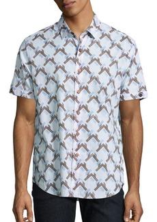 Robert Graham Pappu Regular-Fit Cotton Shirt