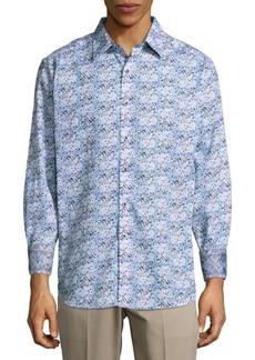 Robert Graham Passaic Cotton Button-Down Shirt