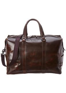 Robert Graham Paton Leather Duffel Bag