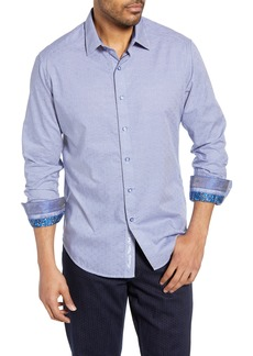 Robert Graham Perran Classic Fit Cotton Sport Shirt
