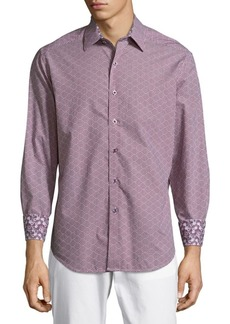 Robert Graham Perth Amboy Classic Fit Checked Button-Down Shirt