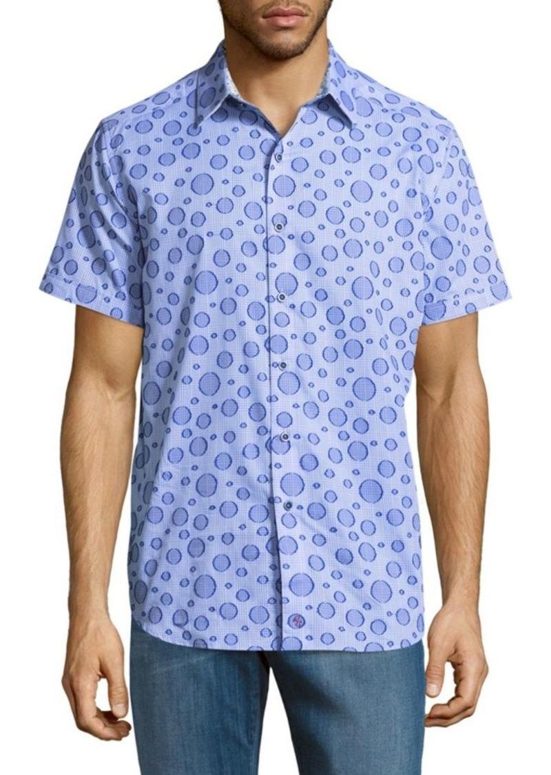 Robert Graham Phillipe Cotton Button-Down Shirt