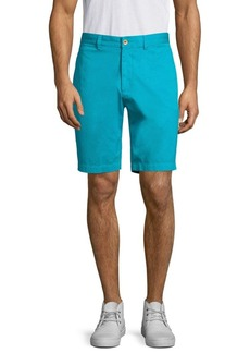 Robert Graham Pioneer Cotton Twill Shorts
