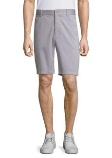 Robert Graham Pioneer Cotton Twill Shorts