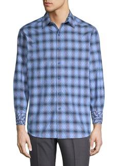 Robert Graham Plaid Cotton Button-Down Shirt