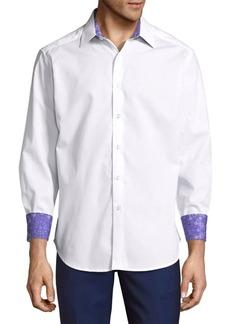 Robert Graham Plainfield Classic Fit Button-Down Shirt