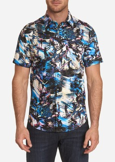 Robert Graham Point Break Short Sleeve Shirt