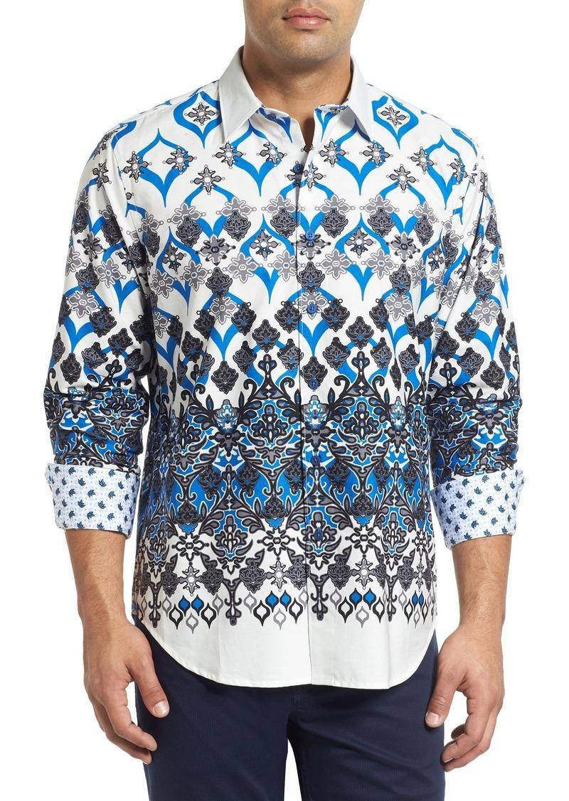 Robert Graham Porto Magna Regular Fit Sport Shirt (Nordstrom Exclusive)