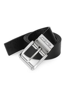 Robert Graham Potter Reversible Leather Belt