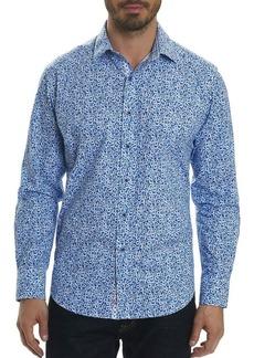 Robert Graham Potts Floral-Print Sport Shirt