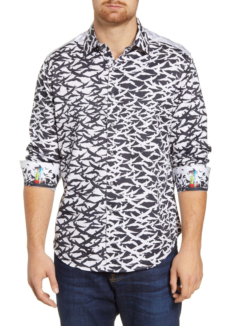 Robert Graham Raven Classic Fit Button-Up Shirt