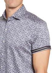 Robert Graham Reynolds Short Sleeve Button-Up Sport Shirt