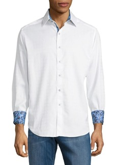 Robert Graham Rialto Cotton Button-Down Shirt