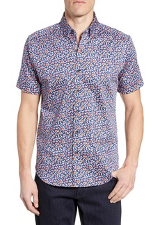 Robert Graham Roark Tailored Fit Sport Shirt
