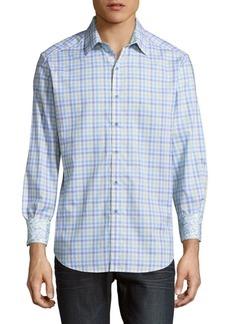 Robert Graham Rohan Printed Cotton Casual Button-Down Shirt