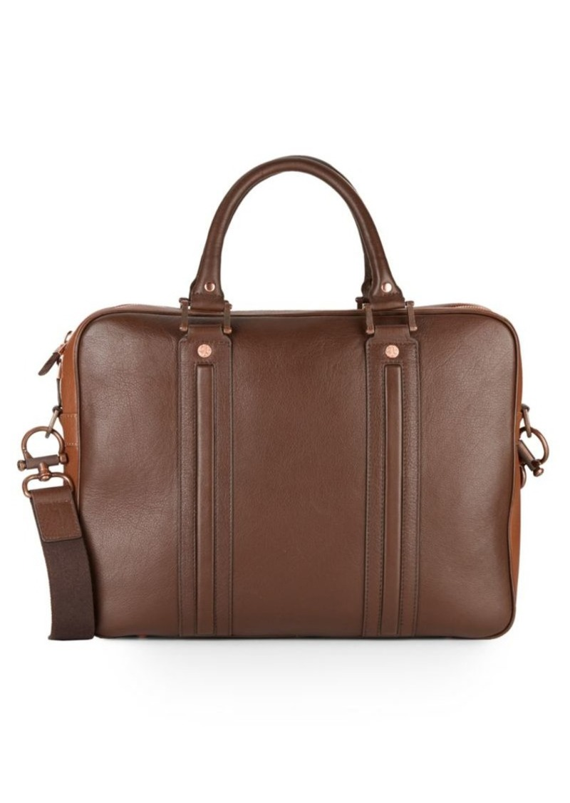 Robert Graham Roman Leather Briefcase