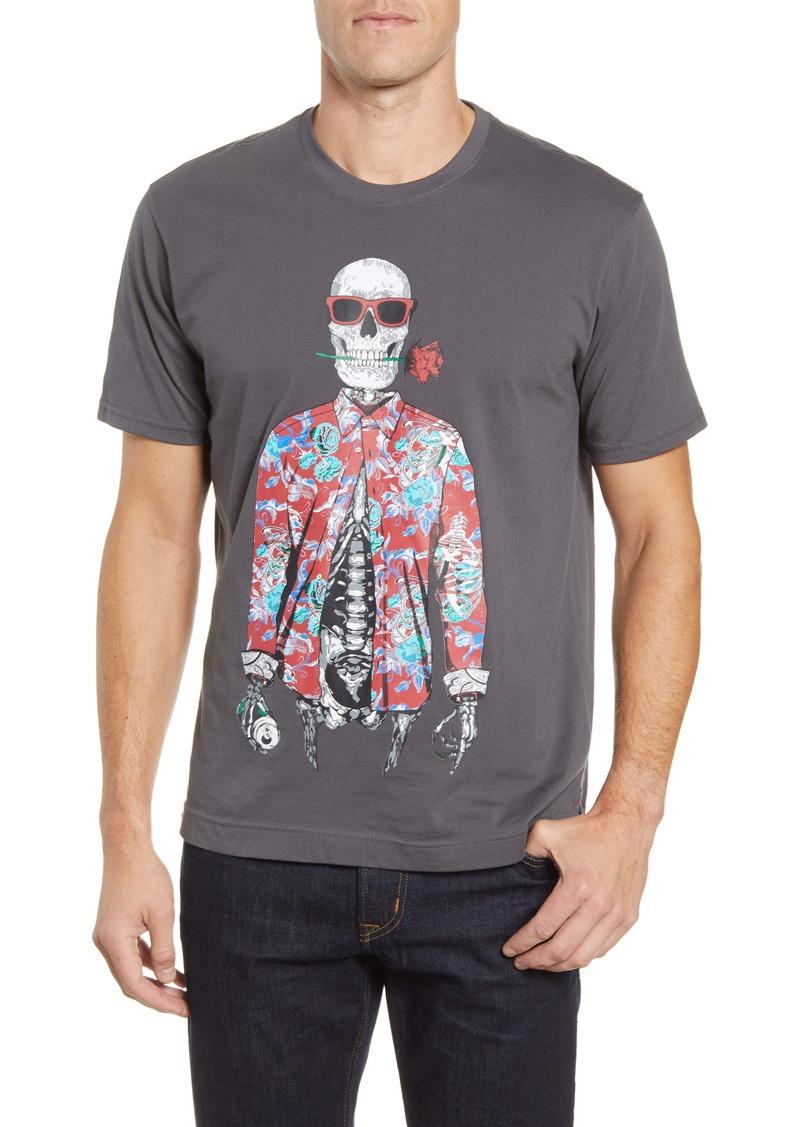 Robert Graham Running on Empty Graphic T-Shirt